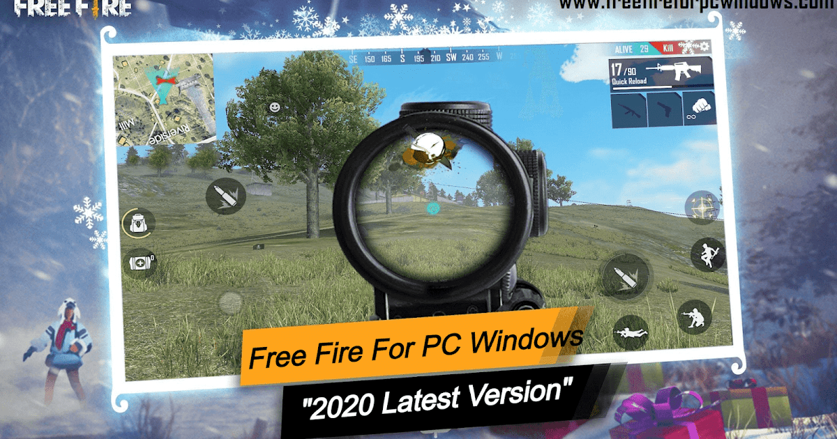 Free Fire For Pc Windows 10 8 7 Free Download