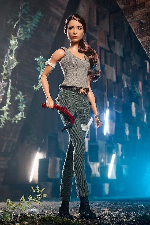 Tomb Raider Legend Gets the Barbie Doll Treatment - Tomb