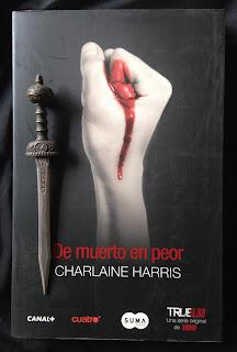 Portada del libro De muerto en peor, de Charlaine Harris