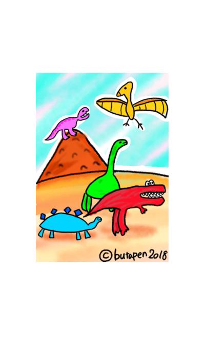 Simple dinosaurs 3