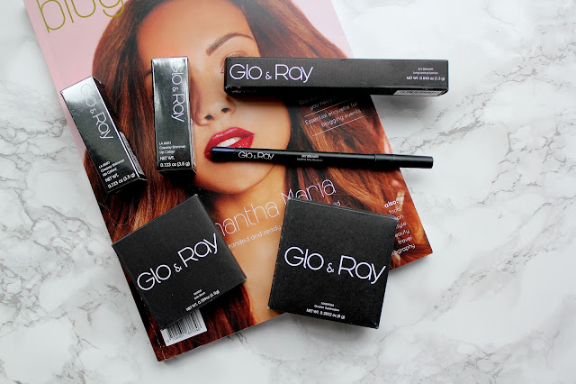 Glo and Ray make-up review