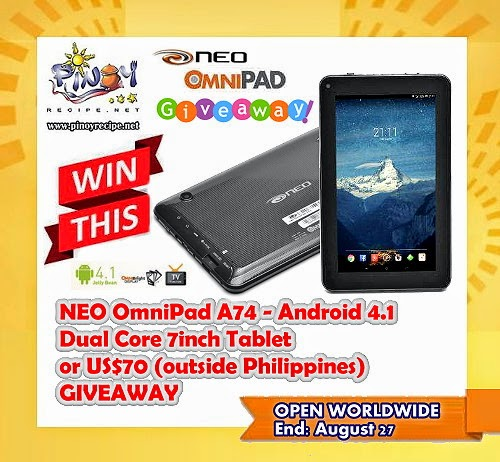 omnipad giveaway by pinoyrecipe.net