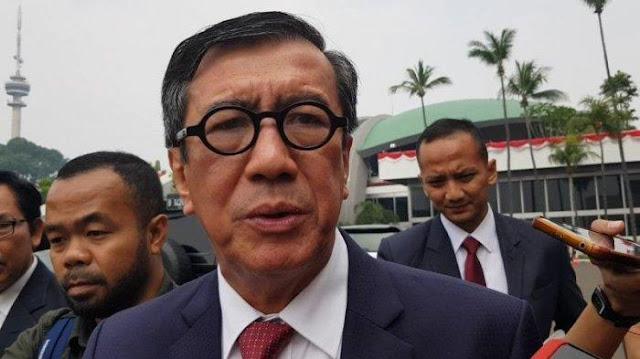 Termasuk Yasonna Laoly, Berikut 5 Menteri yang Kemungkinan Besar Tak Menjabat Lagi pada 2019-2024