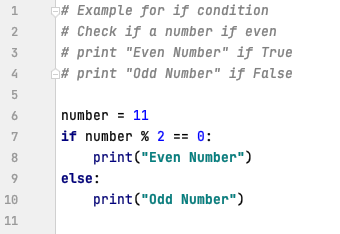 if - else statements in Python
