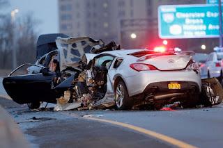 """ACCIDENTE MORTAL!!! 3 muertos deja brutal choque en Queens,NY """"El Internacional """""""