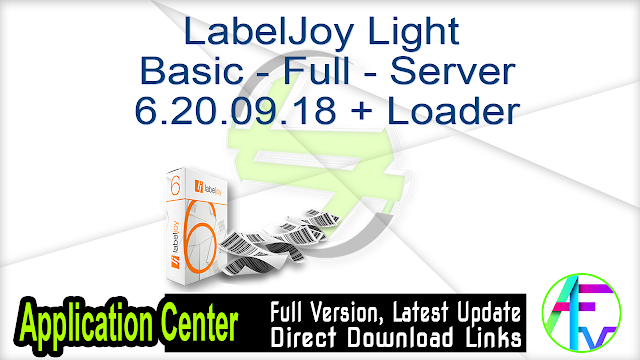 LabelJoy Light – Basic – Full – Server 6.20.09.18 + Loader