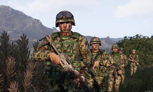Arma3用現代軍MODのMD-12プレート キャリア