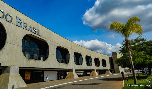 Fachada do CCBB Brasília