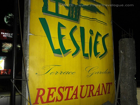 Leslie's Restaurant Tagaytay