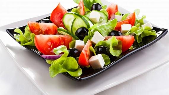 Recetas De Comidas Saludables Ensalada Griega