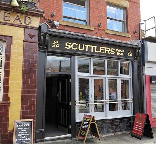 Scuttler's Wine Bar, Manchester.