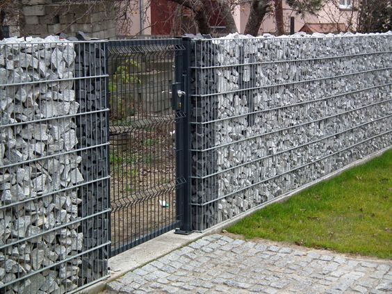 Images of gabion fence simple and low cost bahay ofw