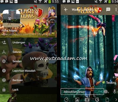 Download BBM Mod Tema Clash Of Clans v2.13.1.14 APK