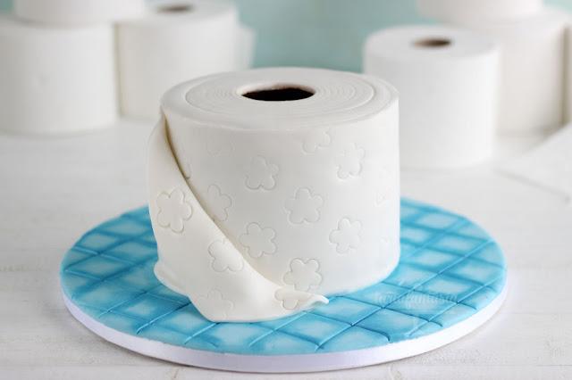 Tarta Rollo de papel higiénico
