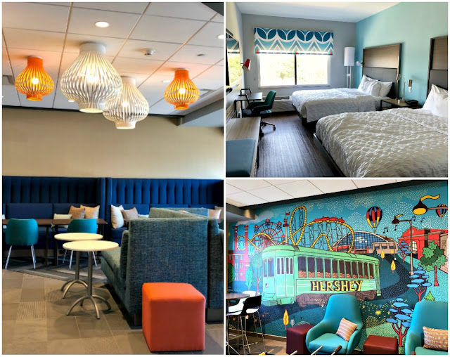 Looking for the perfect home away from home while you & your family are exploring the Hershey, Pennsylvania area?  Then be sure to book a room at the Tru by Hilton located close to Hershey Chocolate Avenue!