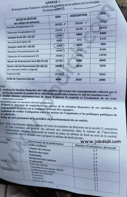 Exemple Concours Conservateur Judiciaire 2ème grade - Conseil Supérieur du Pouvoir Judiciaire