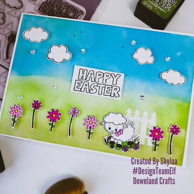 Happy Easter Handmade Card