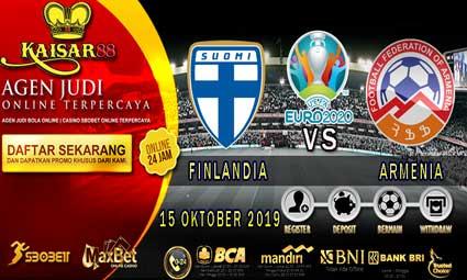 PREDIKSI BOLA TERPERCAYA FINLANDIA VS ARMENIA 15 OKTOBER 2019
