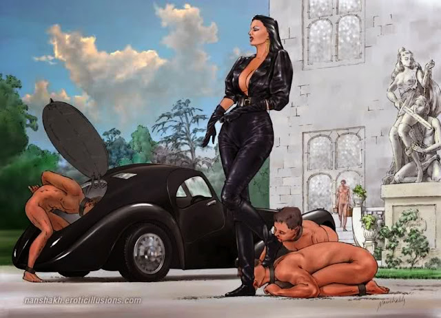 Slave in chastity: CAPTIONS III