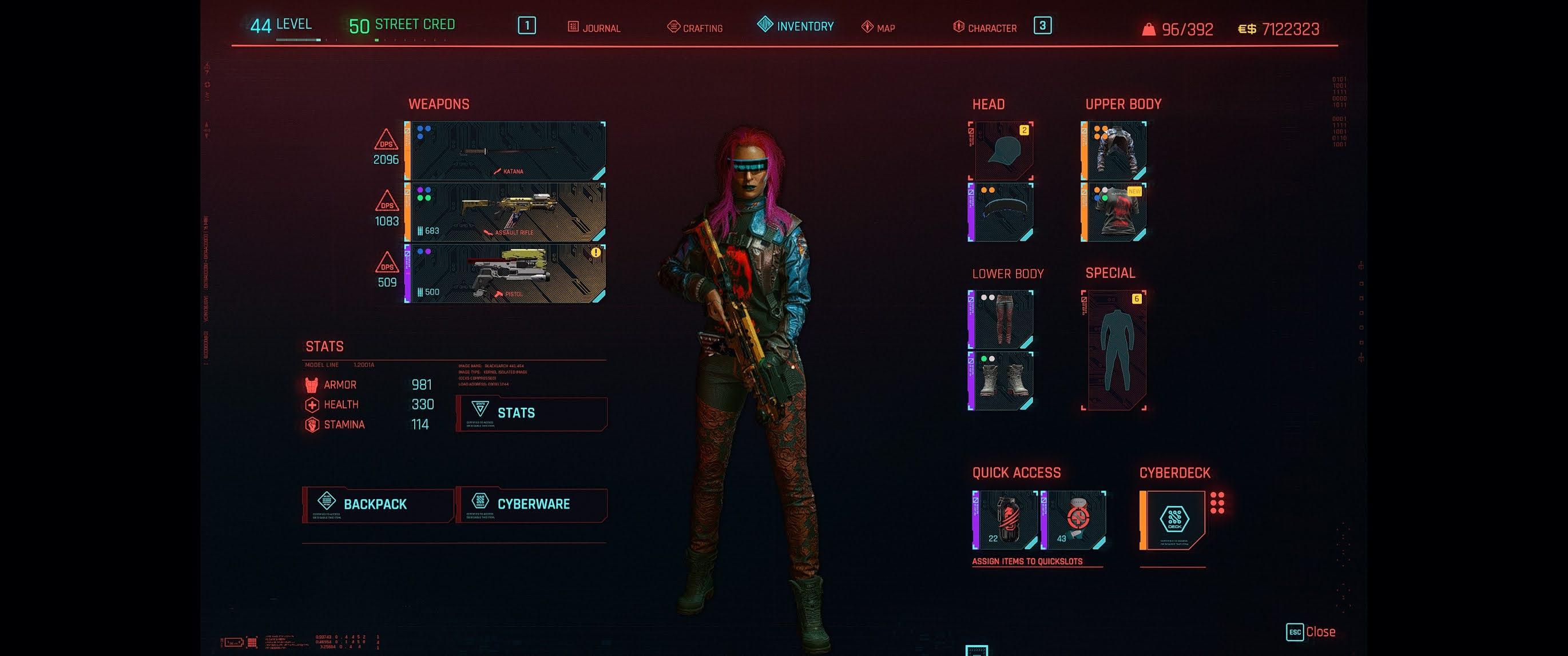 Cyberpunk 2077: 50 different saves