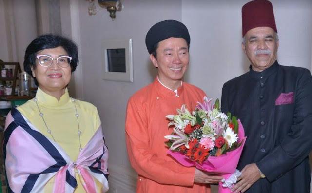 निज़ाम हैदराबाद के परपोते नवाब नजफ़ अली खान 74वें  वेतनाम स्थापना दिवस में शामिल - newsonfloor.com