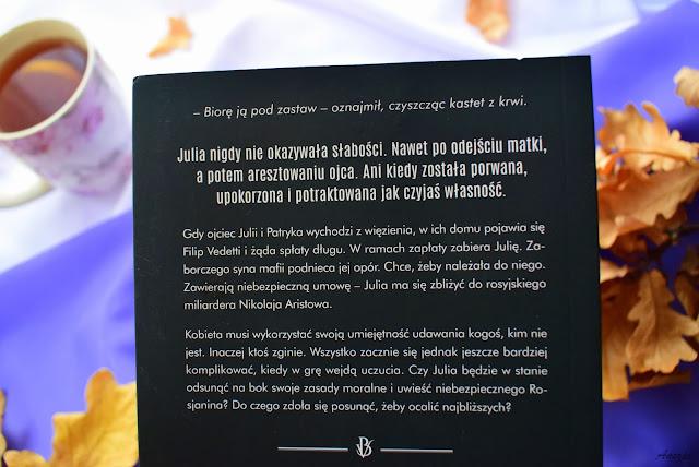 """Zależna od mafii"", Ada Tulińska"