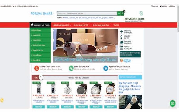 Template Blogspot Tinh Dầu Online V4.1 Free - Giao Diện Trang Bán Hàng Cực Chuẩn