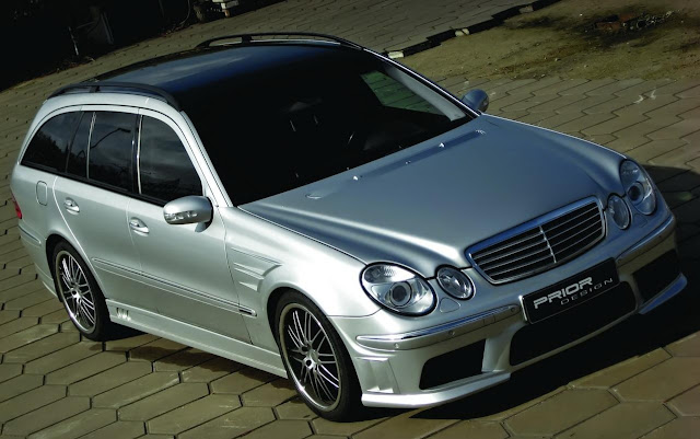 mercedes s211 body kit