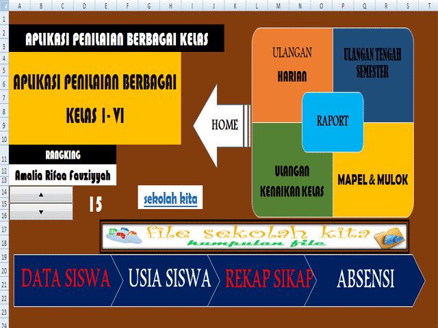 Download Aplikasi Penilaian Ktsp Sd Plus Cetak Raport