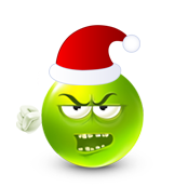 Christmas Smiley Icon 17