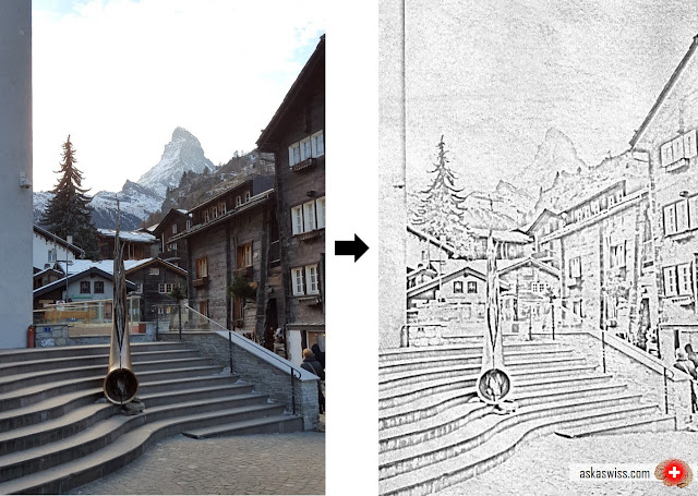 Ask a Swiss: How to create a beautiful pencil sketch effect with
