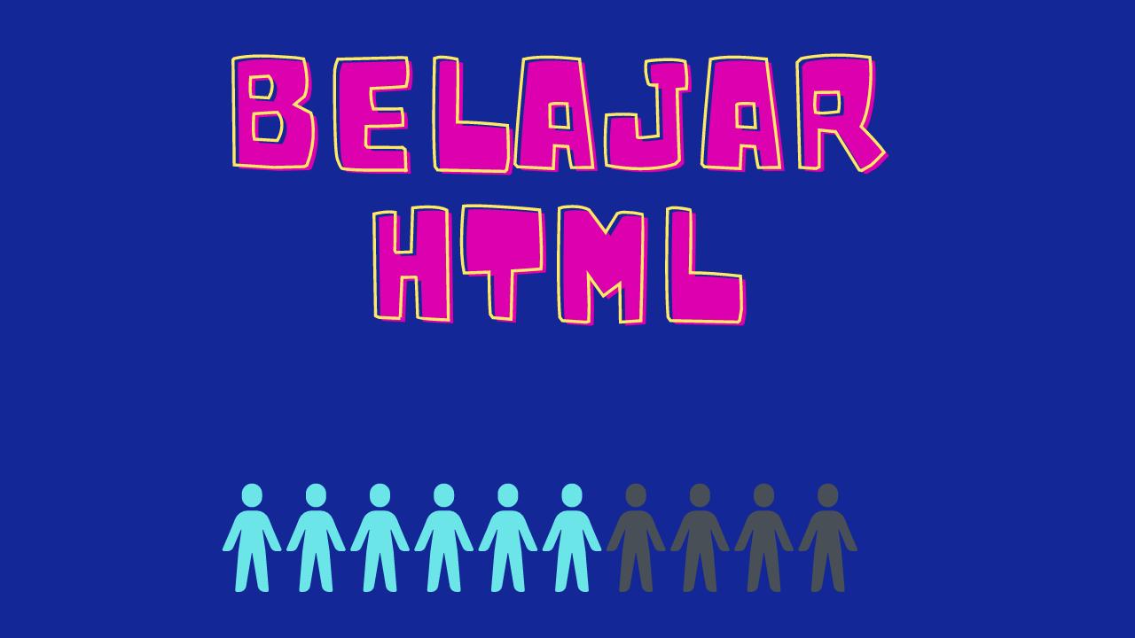 LATIHAN BELAJAR HTML