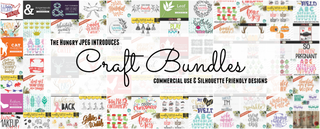 The Hungry JPEG Launches Sister Site - Craft Bundles! - Silhouette ...