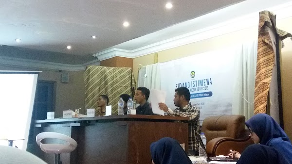 Sidang Istimewa MPA PPMI Mesir, Mengoptimalkan Pengelolaan Kekayaan Organisasi dan Mengakomodir Lembaga Otonom untuk Mendapatkan Jatah Anggaran
