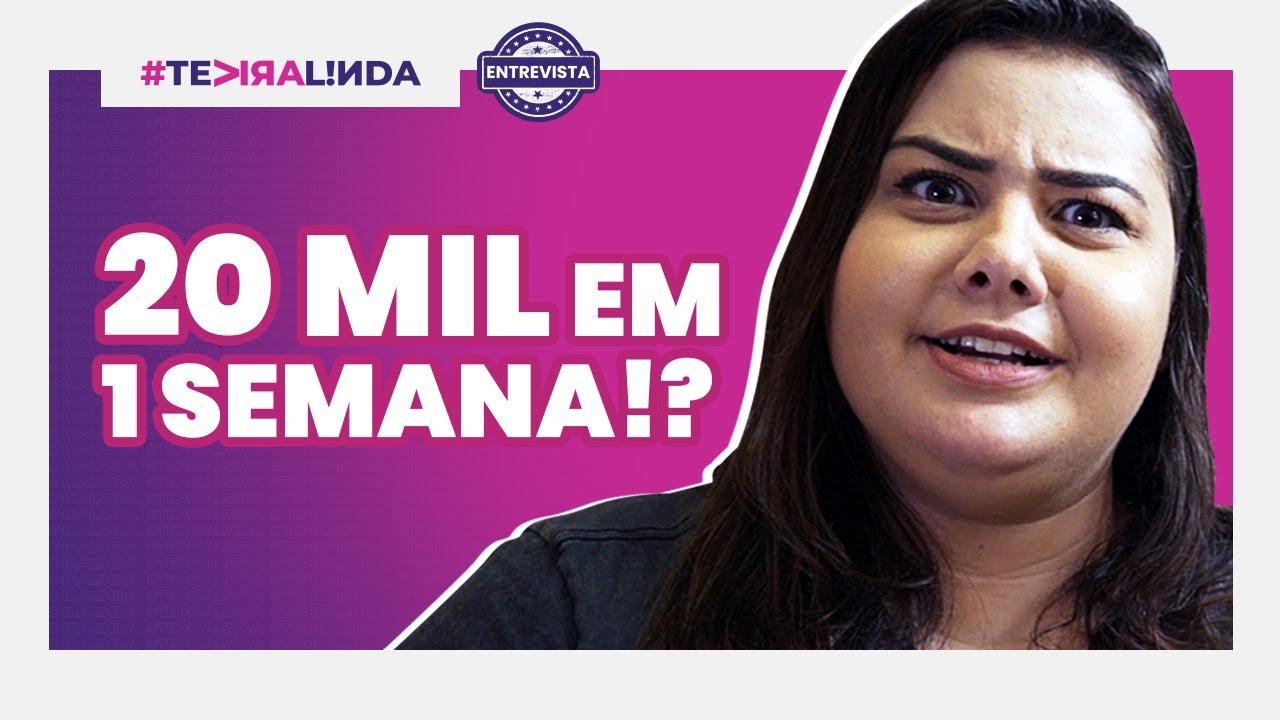 20 MIL REAIS DE RENDA EXTRA EM UMA SEMANA! O que ela fez?