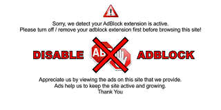 Script ABP Anti AdBlock Plus Terbaru 2016