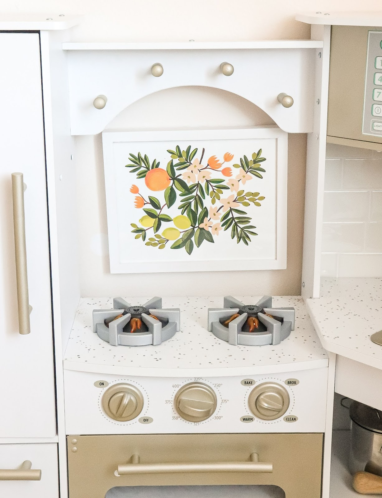 Play Kitchen Makeover