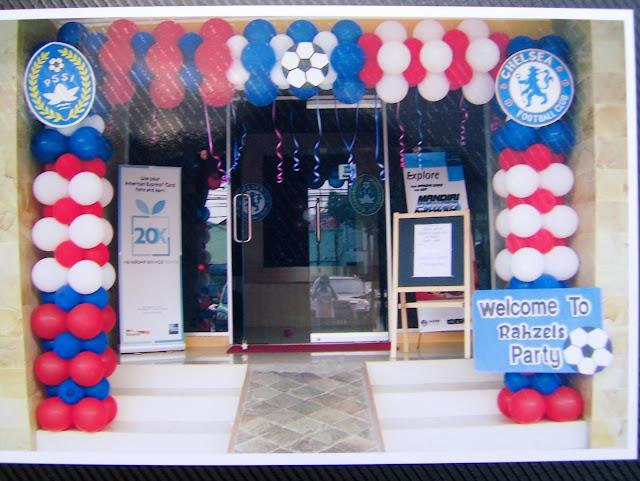 dekorasi balon gate gapura ulang tahun anak