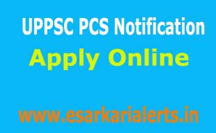 UPPSC PCS Notification