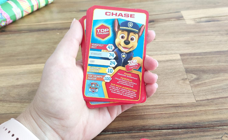 Fuer Kinder ab 6 Trumpfspiel mit Karten