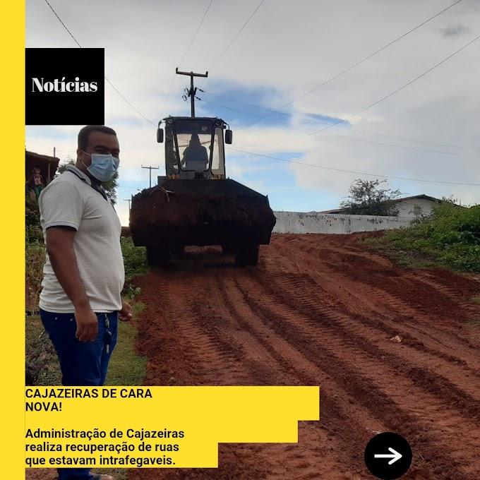 """""""DE CARA NOVA"""" - Administrador Regional Eduardo Barbosa melhora infraestrutura de Cajazeiras"""