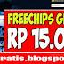 Pencetpoket freechips Gratis Rp 15.000 Tanpa Ribet