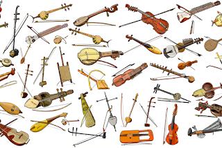 1st Instrument Family Modelled: LUTES. #VisualFutureOfMusic #WorldMusicInstrumentsAndTheory