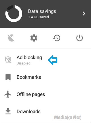 Blokir Iklan Di Opera Mini
