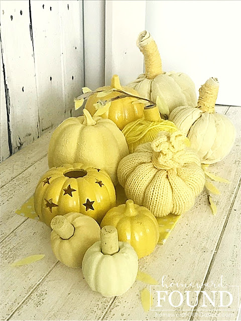 faux finish,farmhouse style,home decor,thrifted,colorful home,diy decorating,Thanksgiving,Sweet Sweater Pumpkins,fall,DIY,painting,boho style,Halloween,fall home decor,decorating with pumpkins,pumpkin decorating,painted pumpkins,color spectrum decor.
