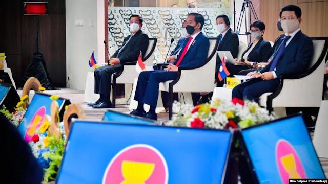 Jokowi: Pemimpin ASEAN Capai 5 Konsensus untuk Bantu Selesaikan Krisis Myanmar