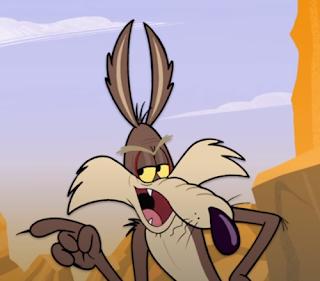Kojote im Looney Tunes Clip.