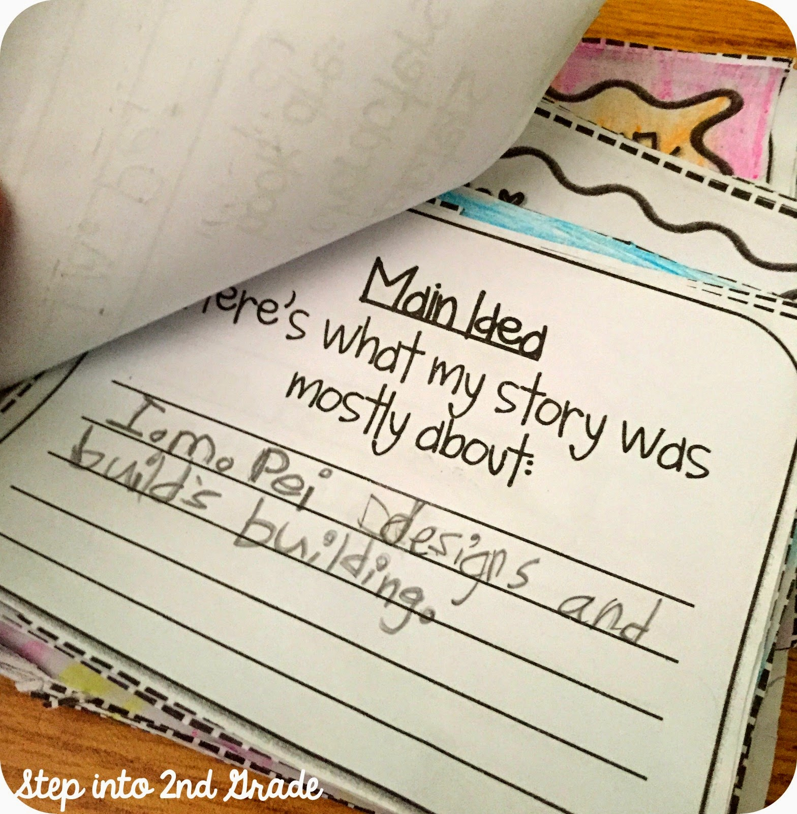 Step Into 2nd Grade With Mrs Lemons Main Idea And