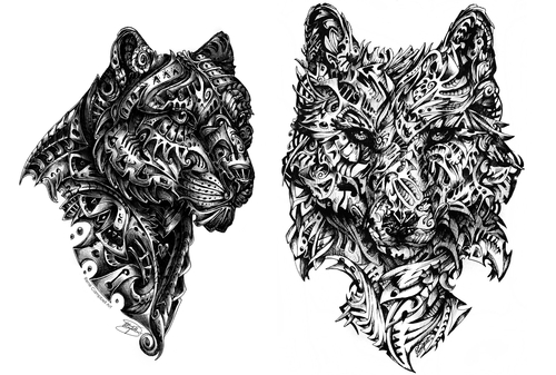 00-René-Campbell-Art-in-Animal-Doodle-Drawings-www-designstack-co