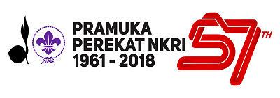 Logo Hari Pramuka 2018 Horizontal